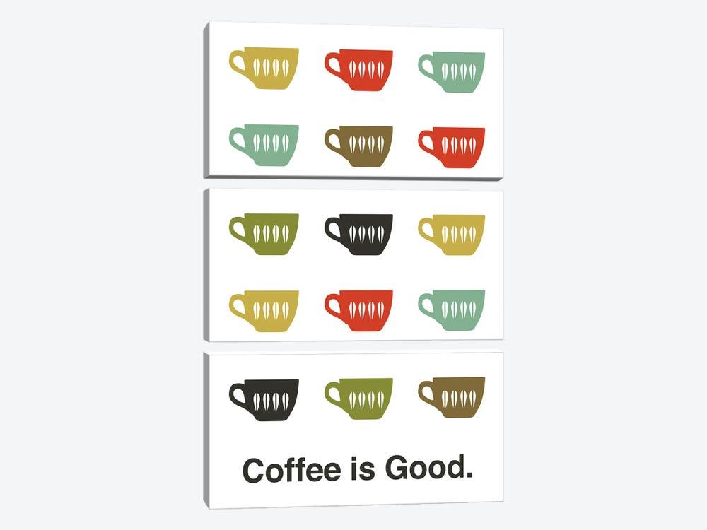 Coffee Is Good by Benton Park Prints 3-piece Canvas Print