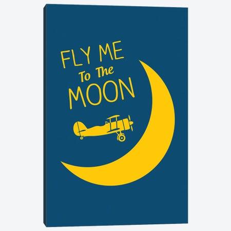 Fly Me To The Moon Canvas Print #BPP249} by Benton Park Prints Canvas Art Print