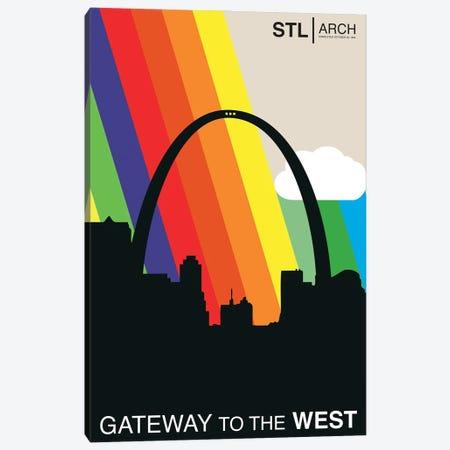 Gateway To The West - St. Louis Canvas Print #BPP251} by Benton Park Prints Canvas Artwork