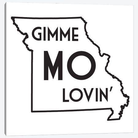 Gimme Mo Lovin' Canvas Print #BPP252} by Benton Park Prints Canvas Wall Art