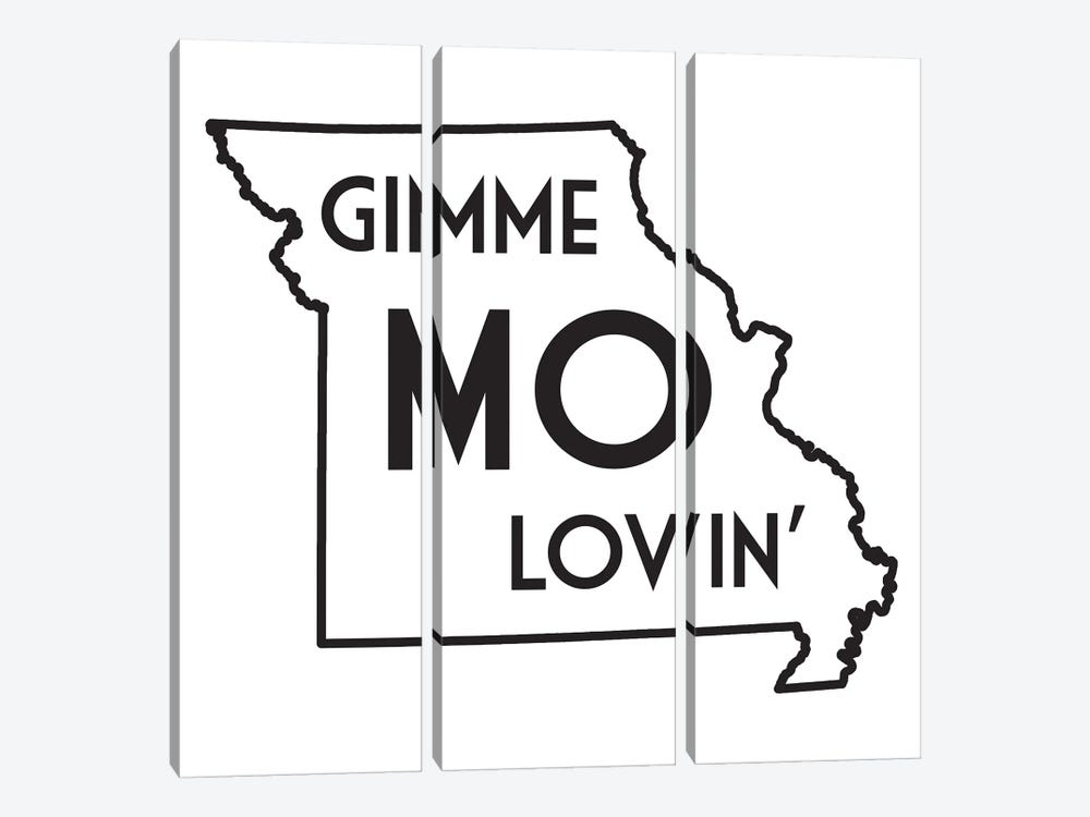 Gimme Mo Lovin' by Benton Park Prints 3-piece Canvas Art Print