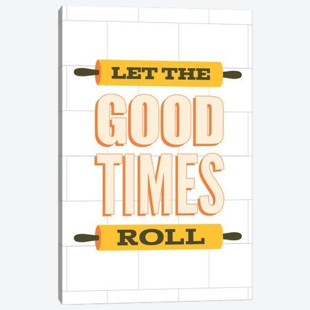 Let The Good Times Roll Canvas Print #BPP253} by Benton Park Prints Canvas Art