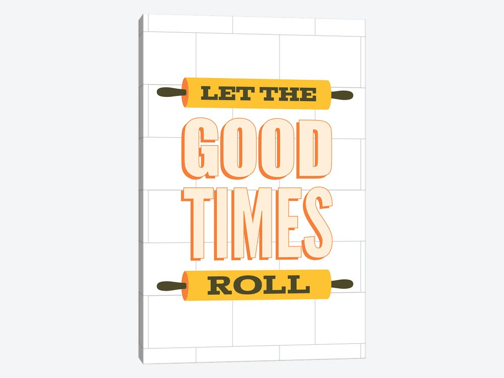 Let The Good Times Roll by Benton Park Prints 1-piece Canvas Wall Art