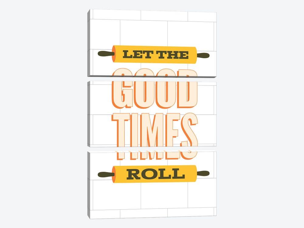 Let The Good Times Roll by Benton Park Prints 3-piece Canvas Art