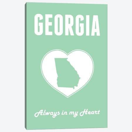 Georgia - Always in my Heart Canvas Print #BPP255} by Benton Park Prints Canvas Art Print