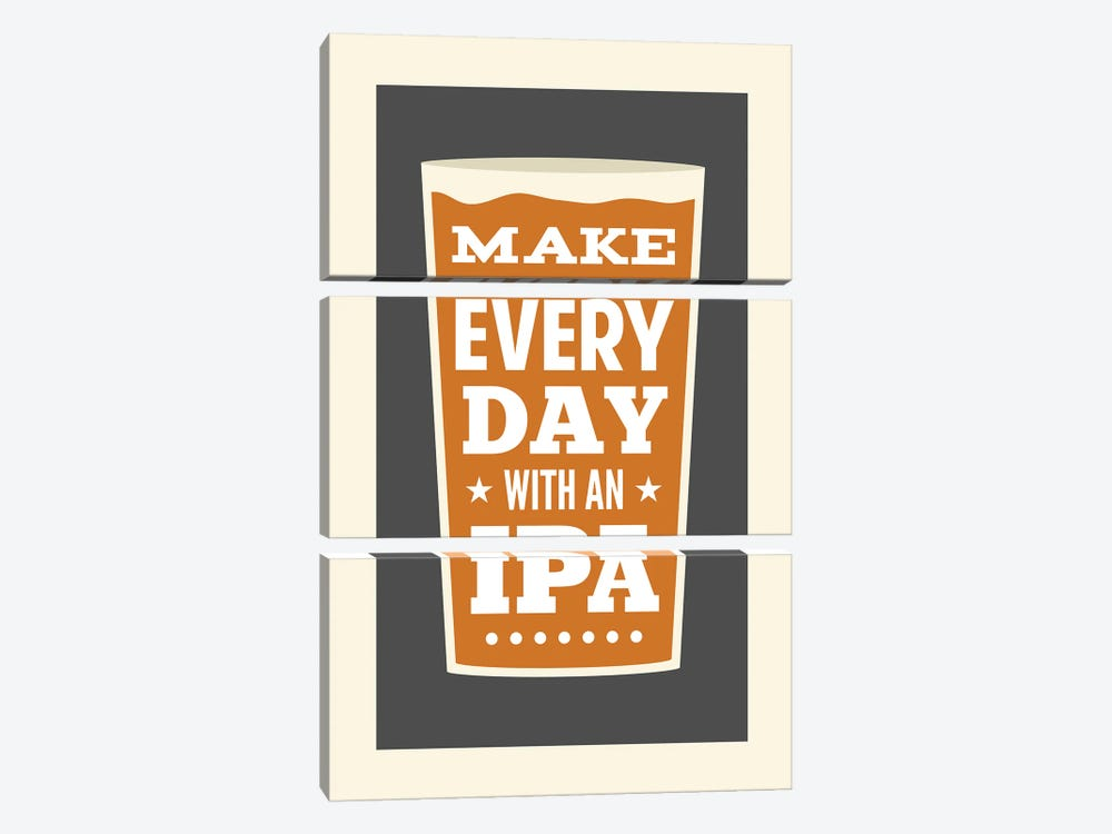 Make Every Day With An IPA by Benton Park Prints 3-piece Canvas Wall Art