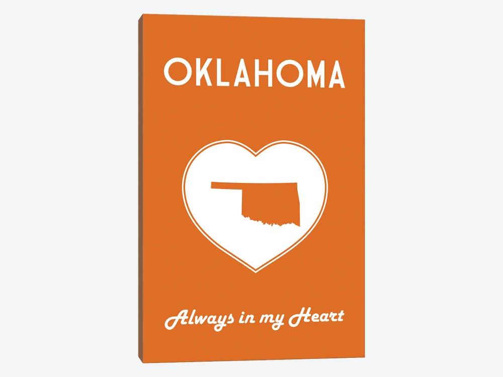 Oklahoma - Always In My Heart by Benton Park Prints 1-piece Canvas Art Print