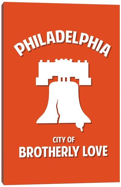 City of Brotherly Love Canvas Art Print