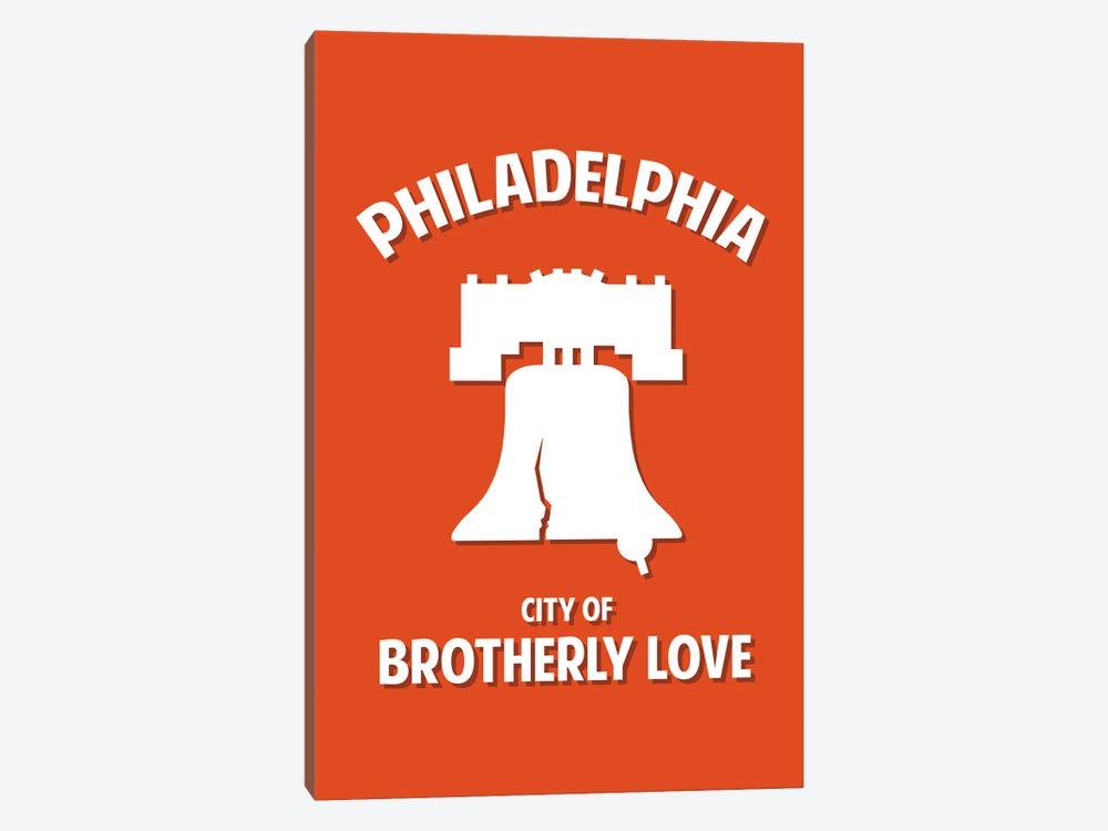 City of Brotherly Love by Benton Park Prints 1-piece Canvas Art