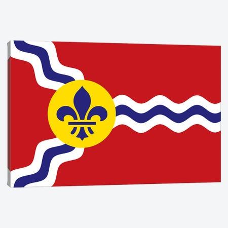 St. Louis Flag Canvas Print #BPP303} by Benton Park Prints Canvas Art