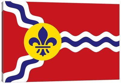 St. Louis Flag Canvas Art Print