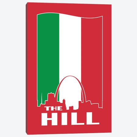 The Hill - St. Louis 3-Piece Canvas #BPP312} by Benton Park Prints Canvas Art Print