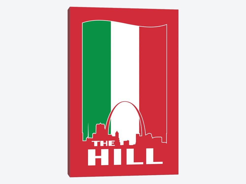 The Hill - St. Louis by Benton Park Prints 1-piece Canvas Artwork