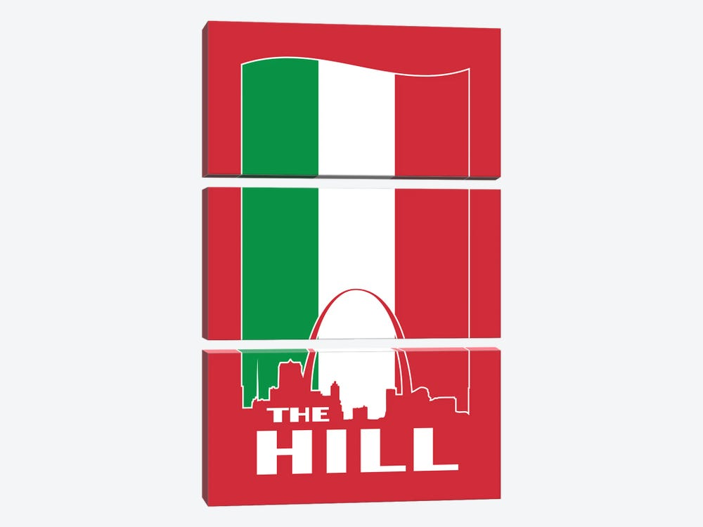 The Hill - St. Louis by Benton Park Prints 3-piece Canvas Wall Art