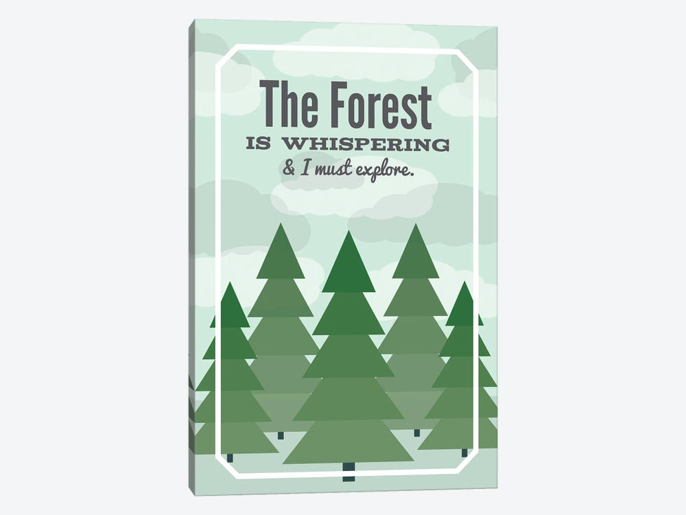 The Forest is Whispering by Benton Park Prints 1-piece Art Print