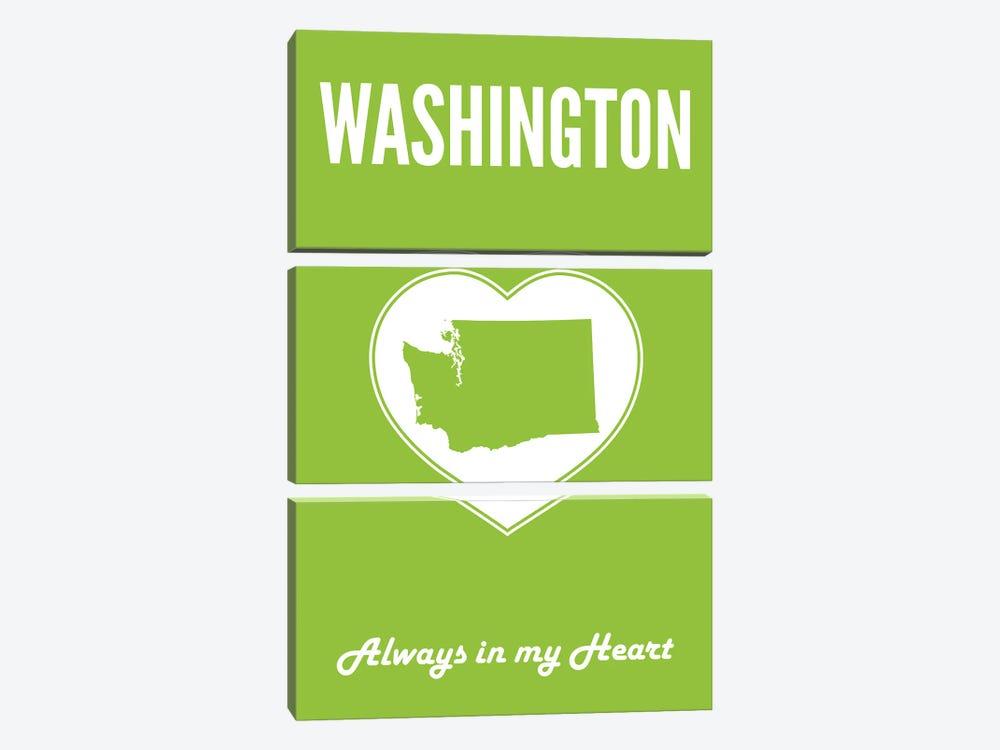 Washington - Always In My Heart by Benton Park Prints 3-piece Canvas Wall Art