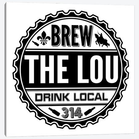 Brew The Lou Canvas Print #BPP328} by Benton Park Prints Canvas Wall Art