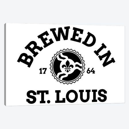 Brewed In St. Louis Canvas Print #BPP330} by Benton Park Prints Canvas Art Print