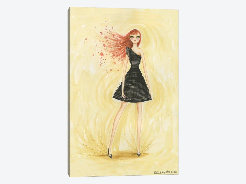 Little Black Dress June by Bella Pilar 1-piece Canvas Artwork