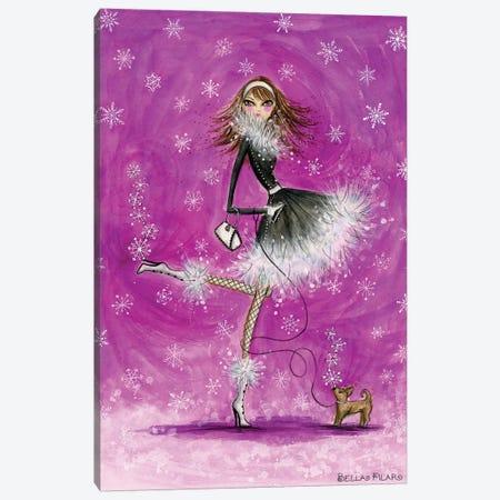 Winter Canvas Print #BPR109} by Bella Pilar Canvas Print