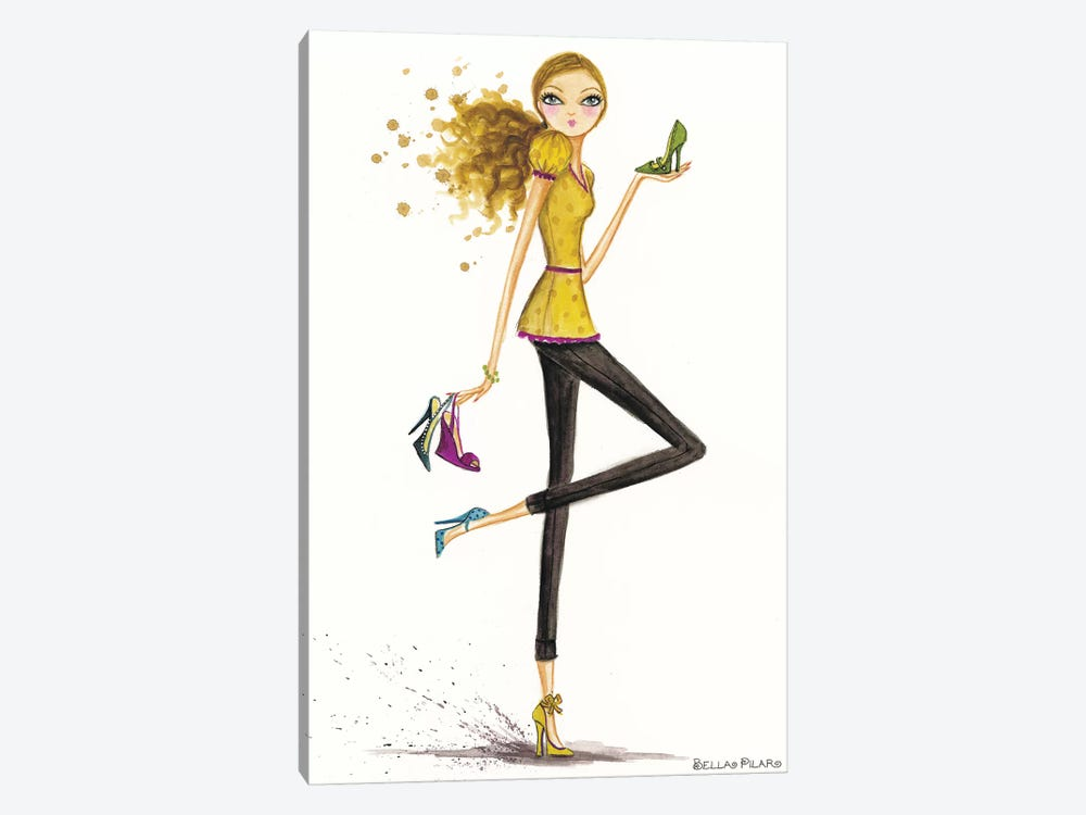 Accessorize Shoes by Bella Pilar 1-piece Art Print