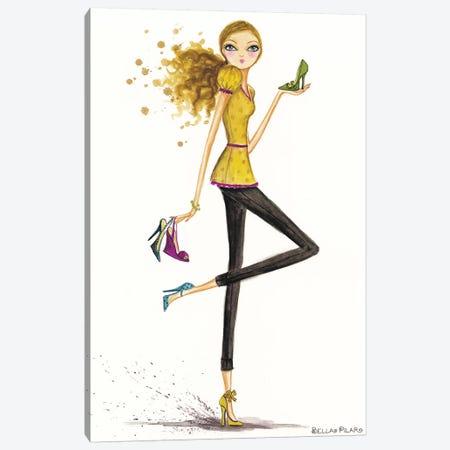 Accessorize Shoes Canvas Print #BPR10} by Bella Pilar Canvas Print