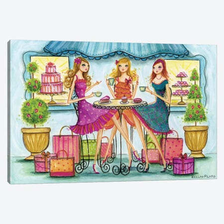 Shop Pastry Canvas Print #BPR113} by Bella Pilar Canvas Wall Art