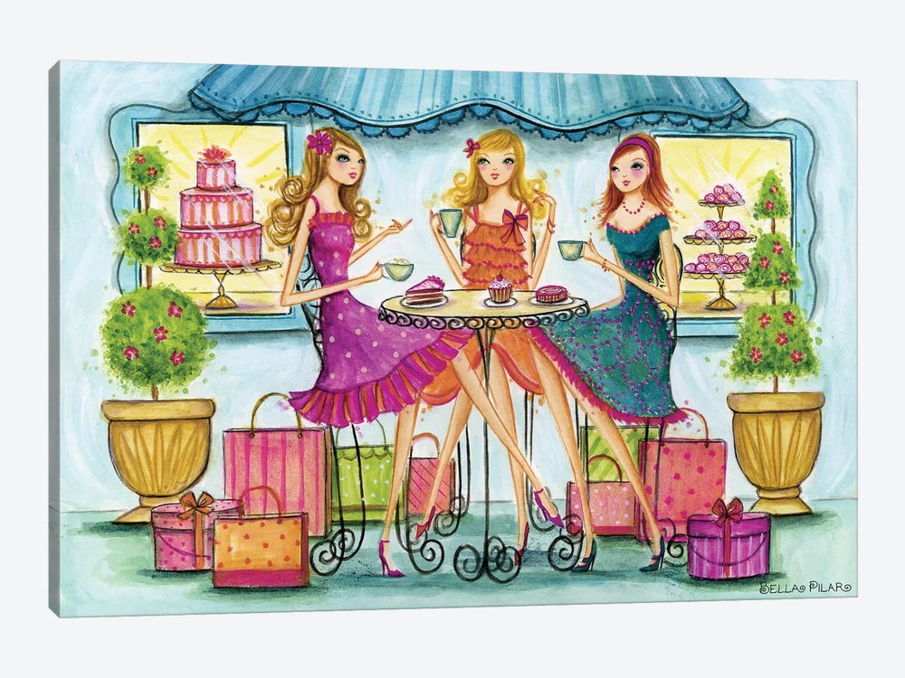 Shop Pastry by Bella Pilar 1-piece Canvas Wall Art