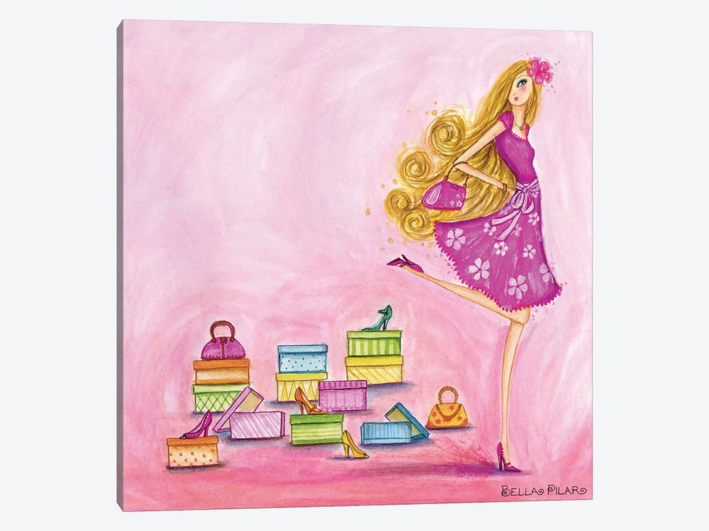 Shop Pink by Bella Pilar 1-piece Art Print
