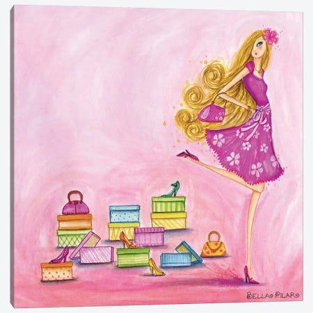 Shop Pink Canvas Print #BPR114} by Bella Pilar Canvas Print