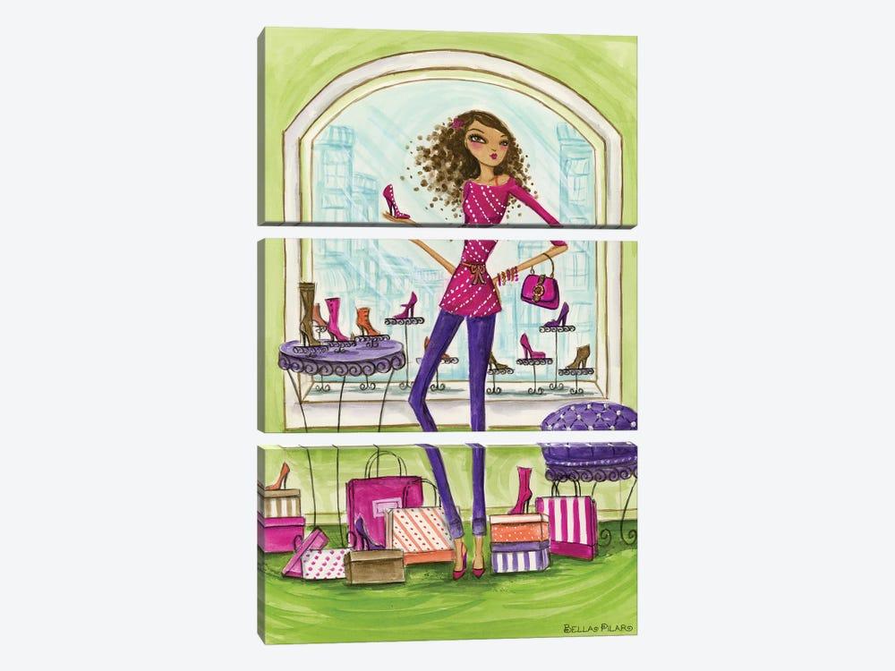Shop the City Shoe Shop by Bella Pilar 3-piece Art Print
