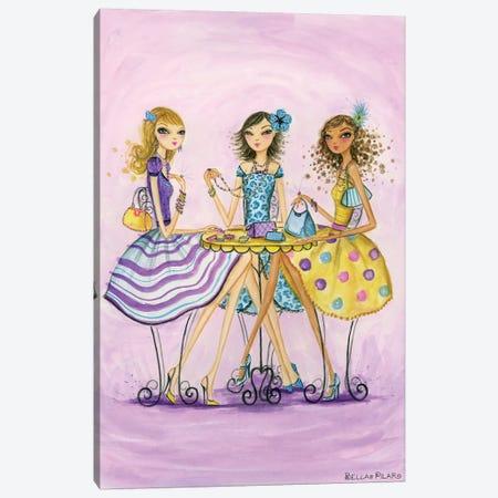 Spring Into Shopping Accessorize Canvas Print #BPR119} by Bella Pilar Canvas Art