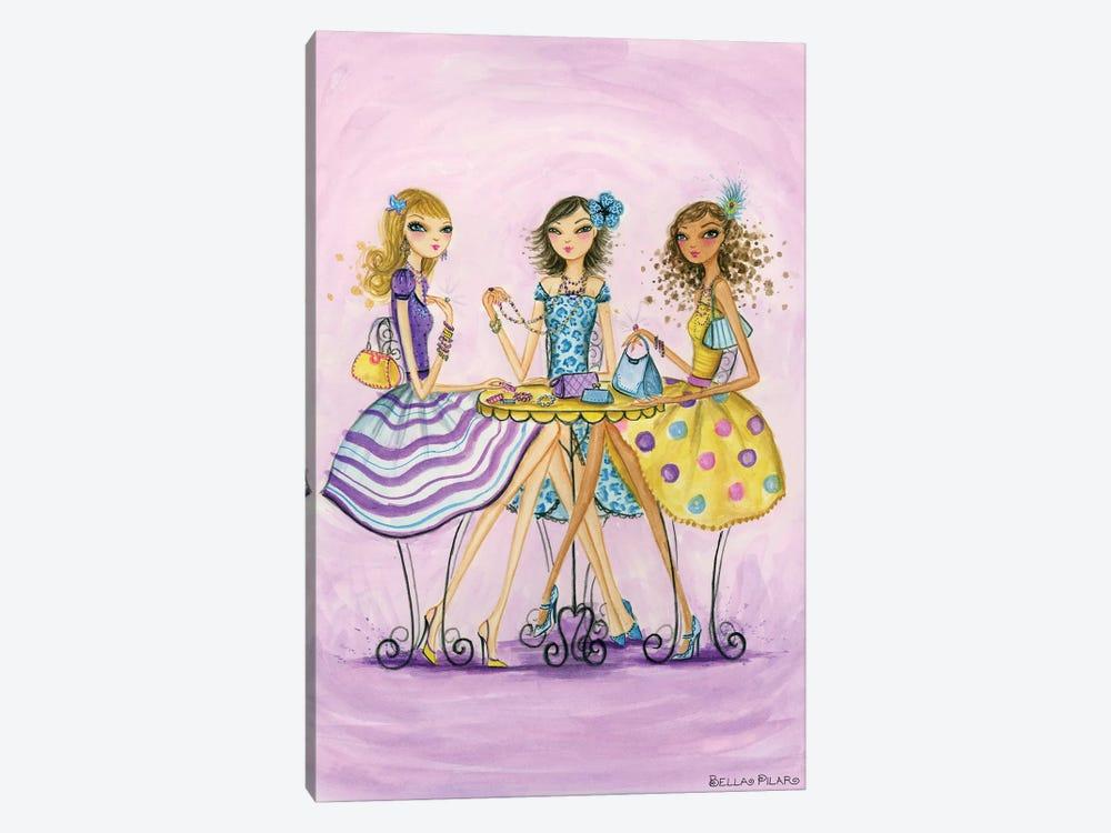 Spring Into Shopping Accessorize by Bella Pilar 1-piece Canvas Art