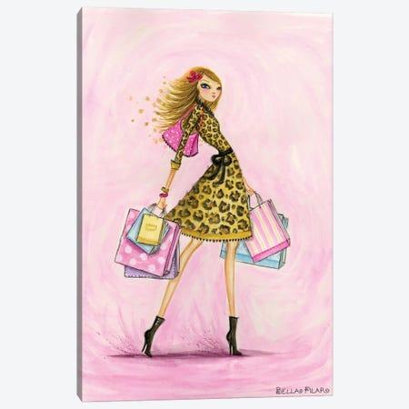 Spring Into Shopping See Me Shop Canvas Print #BPR121} by Bella Pilar Canvas Art Print