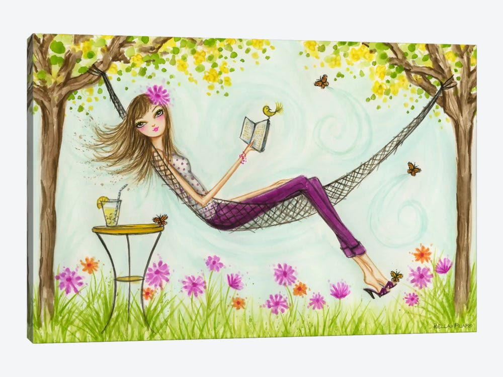 Sprung Hammock by Bella Pilar 1-piece Canvas Art Print