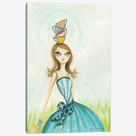 Tea Party Tea Time Canvas Print #BPR134} by Bella Pilar Canvas Art Print