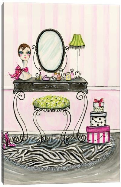 Vanity Room A Canvas Print #BPR138