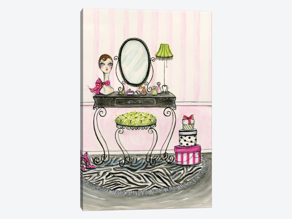 Vanity Room A by Bella Pilar 1-piece Canvas Print