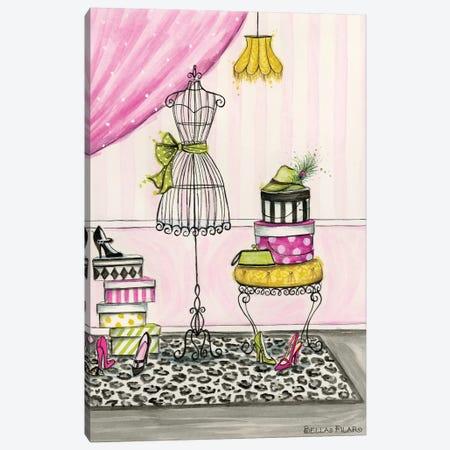 Vanity Room B Canvas Print #BPR139} by Bella Pilar Canvas Wall Art