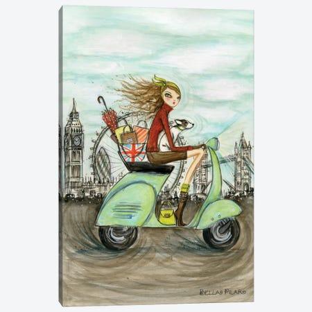London Canvas Print #BPR140} by Bella Pilar Canvas Print