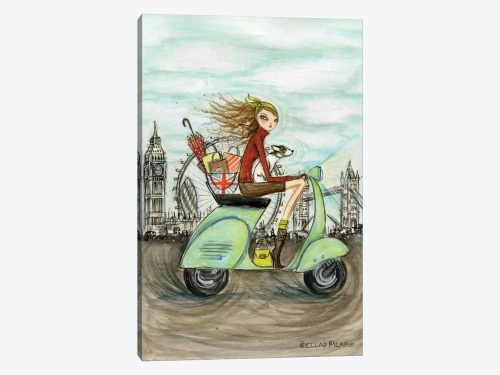 London by Bella Pilar 1-piece Canvas Art