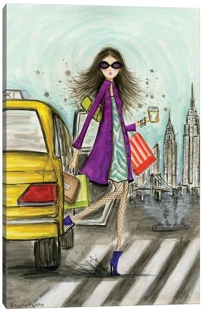 World Shopper: New York Canvas Print #BPR141