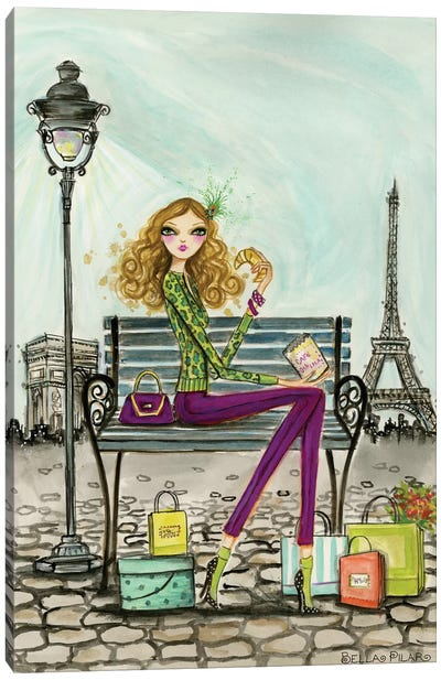 World Shopper: Paris Canvas Art Print
