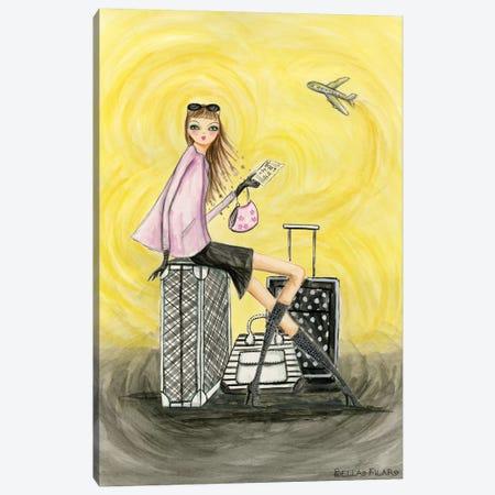 Gold Ticket Canvas Print #BPR143} by Bella Pilar Canvas Print