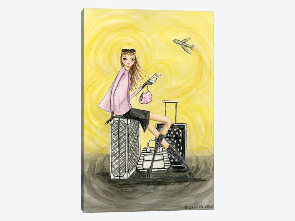 Gold Ticket by Bella Pilar 1-piece Canvas Art Print