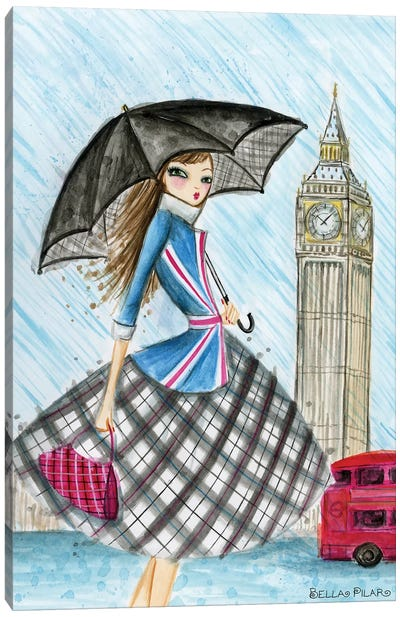 World Traveler: London Canvas Print #BPR144