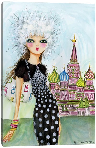 Moscow Canvas Art Print