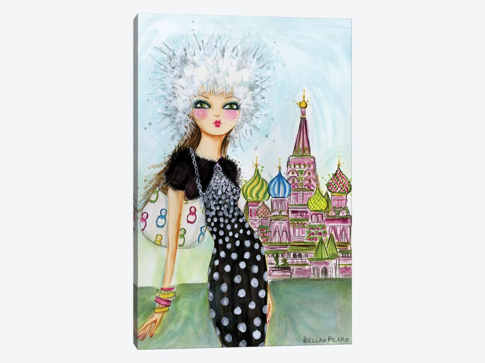 Moscow by Bella Pilar 1-piece Canvas Art Print