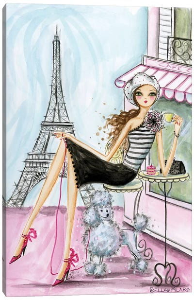 World Traveler: Paris Canvas Print #BPR146