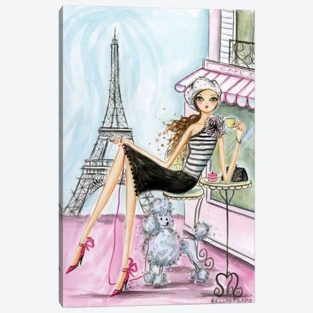 Paris Canvas Print #BPR146} by Bella Pilar Canvas Wall Art